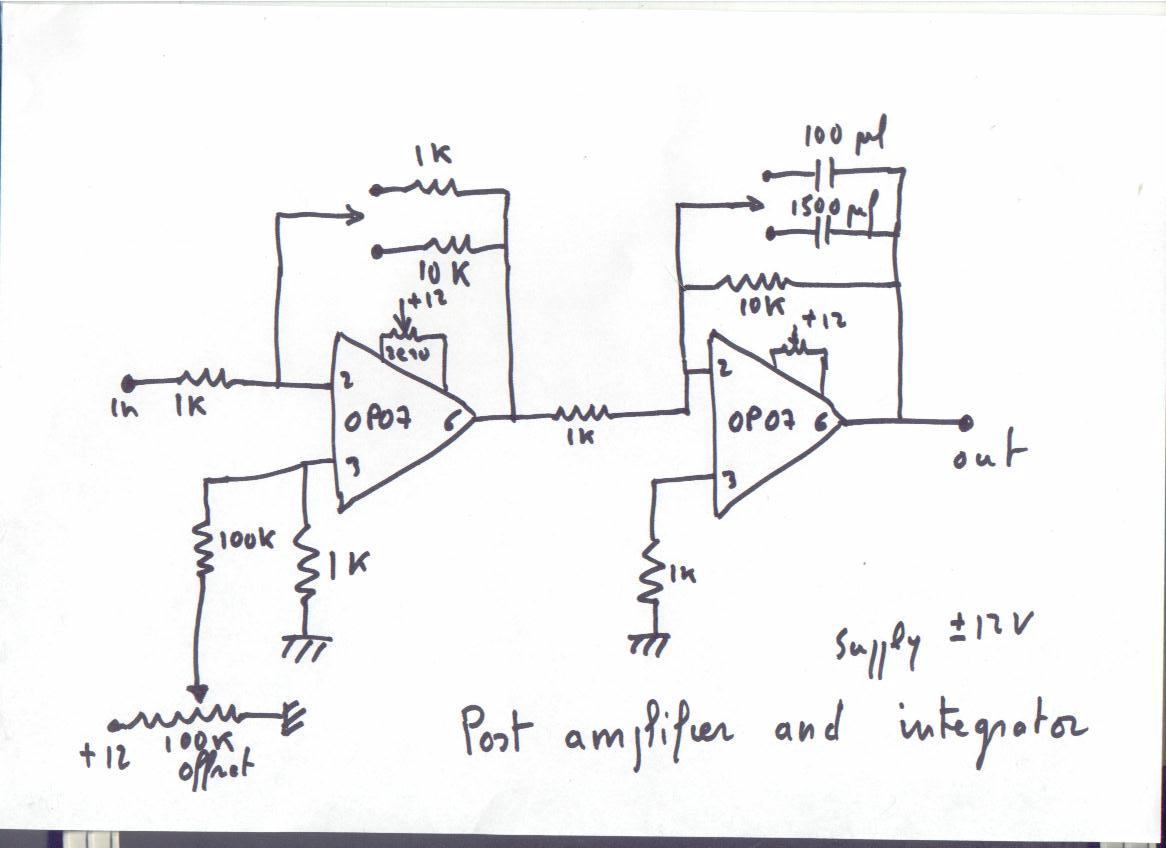 How To Begin In Radio Astronomy Schematic Block Diagram Circuit Satellite Receiver This Tension Can Be Brought Very Close Of That Provided By The Noise There Remains Useful Signal Amplified And Integrated
